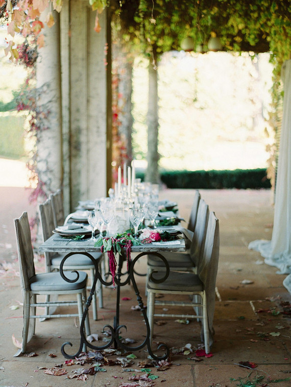 Vintage tablescape