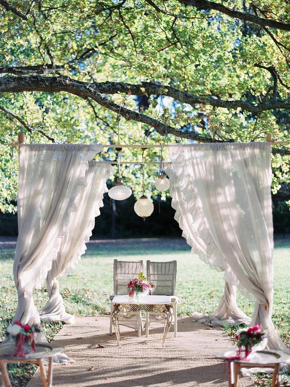 Vintage bohemian wedding