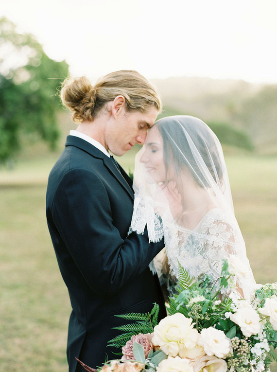 Oahu wedding portrait