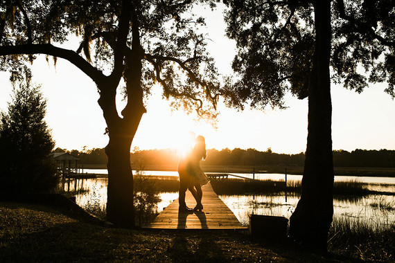 River engagement session in Charleston