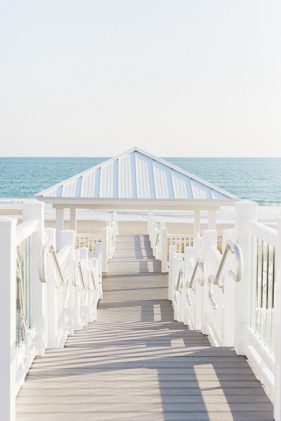 seaside glam baby shower