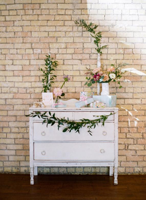 spring floral baby shower