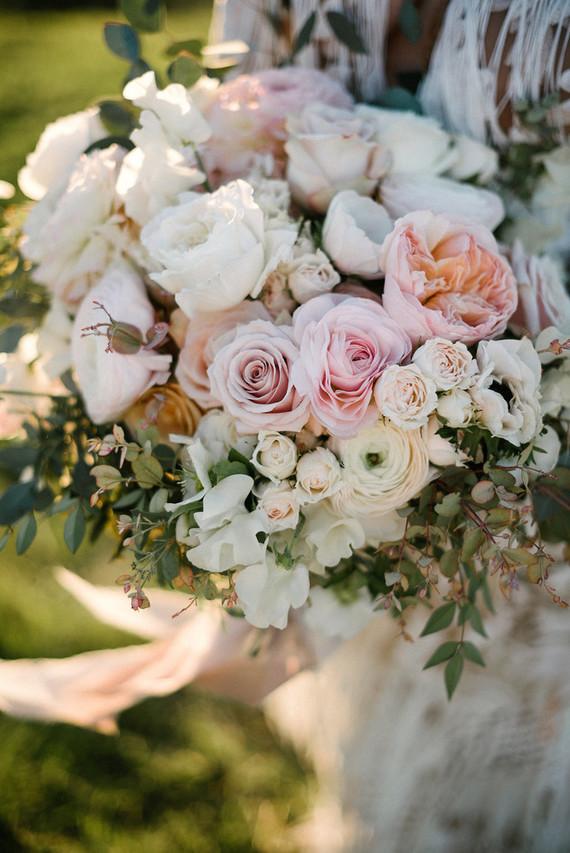 Boho spring bouquet