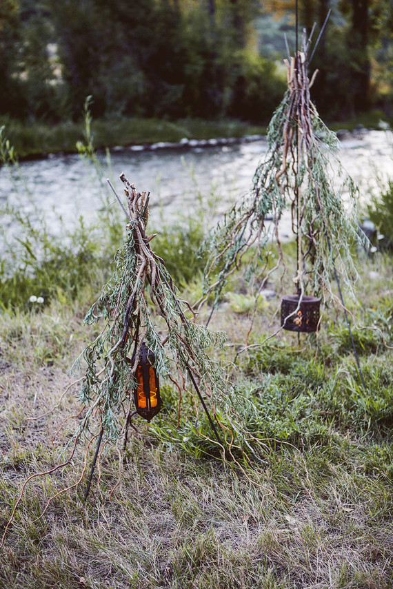 Teepee decor