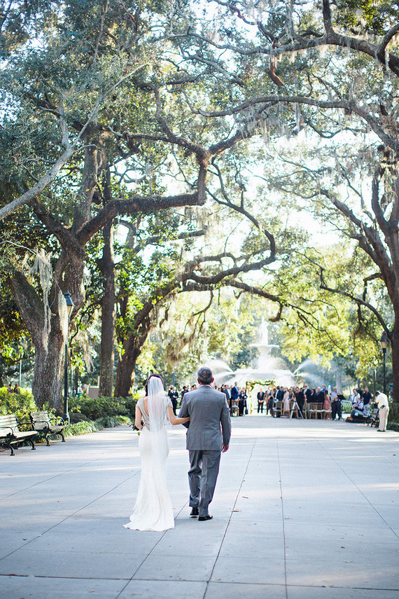 Savannah wedding ceremony