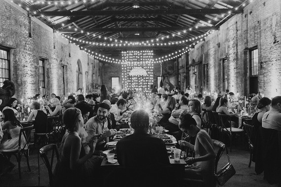 Bohemian warehouse wedding