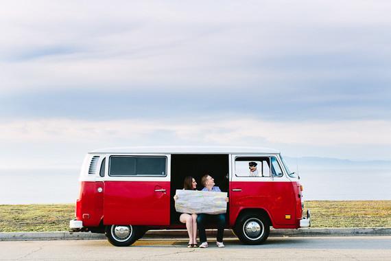 Vintage VW van portraits