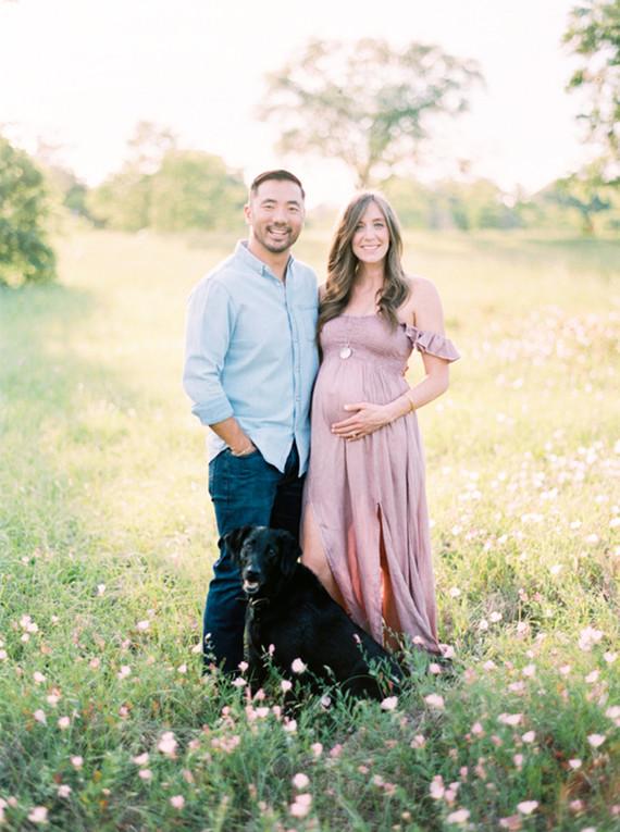 Mossy Oaks romantic maternity photos