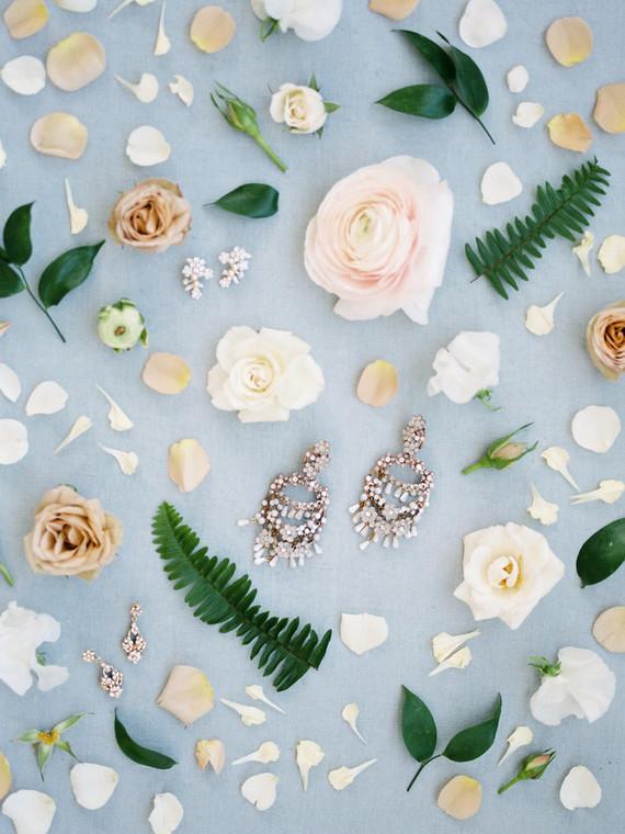 Spring bridal jewelry