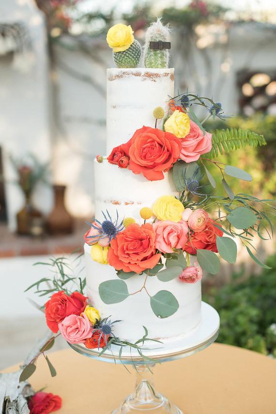Desert inspired cake