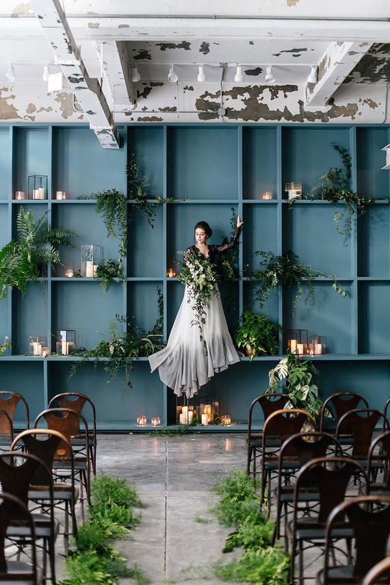 Urban industrial wedding inspiration