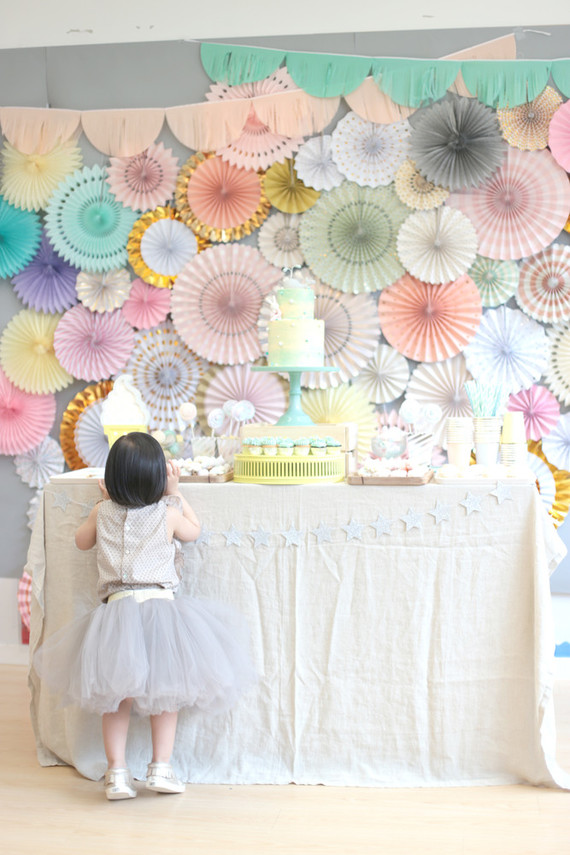Pastel Dessert Themed Party