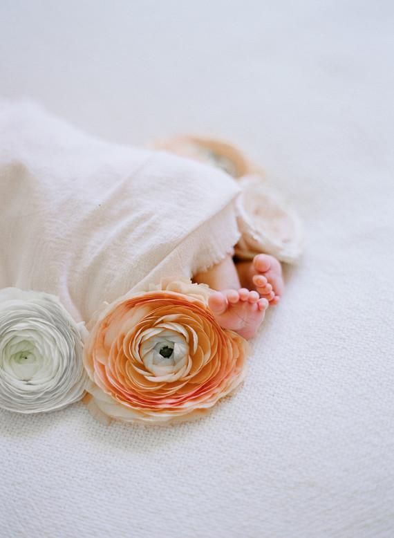 Elegant classic newborn photos