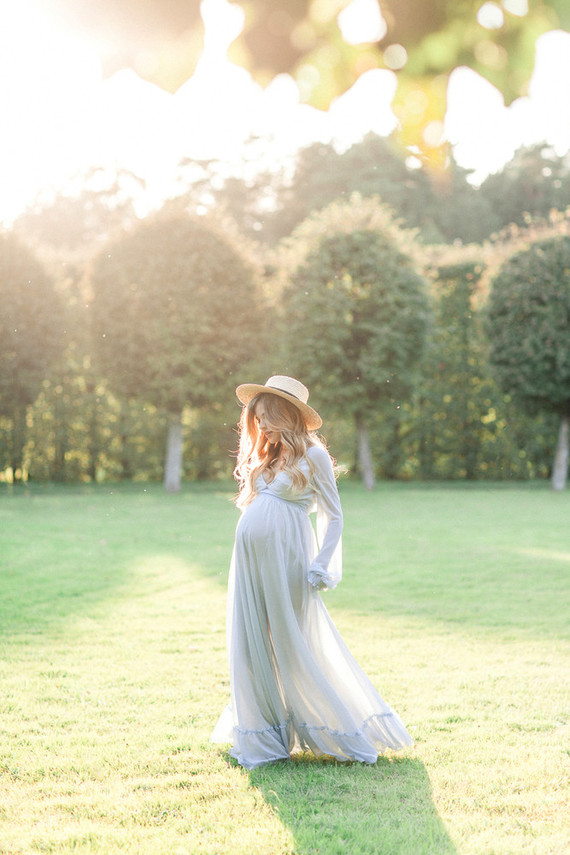 dress maternity photos