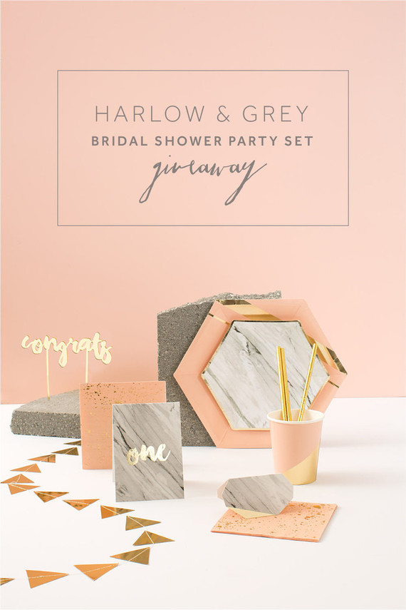Harlow & Grey party supplies
