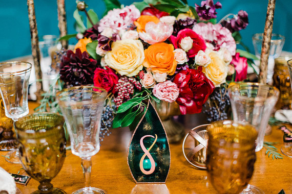Colorful centerpiece