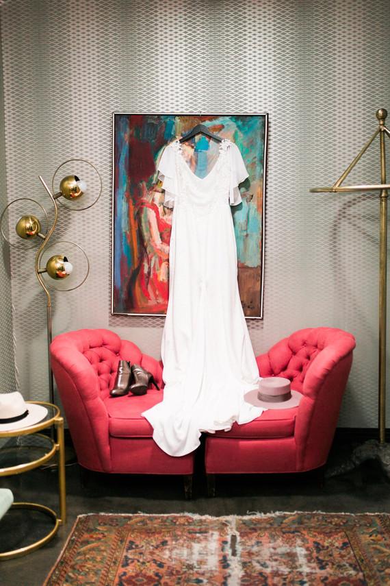 Delila Fox wedding dress