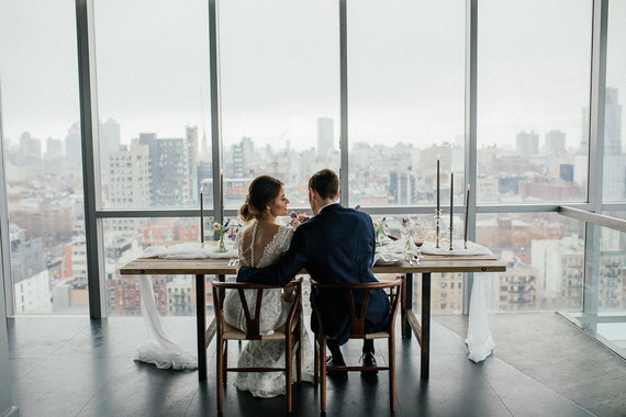 NYC penthouse wedding inspiration