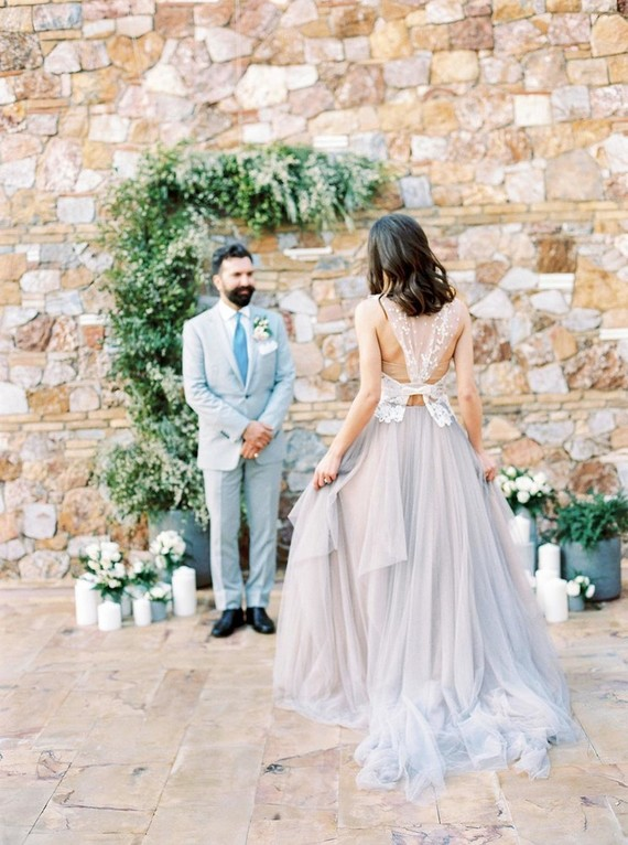 Grecian wedding ceremony