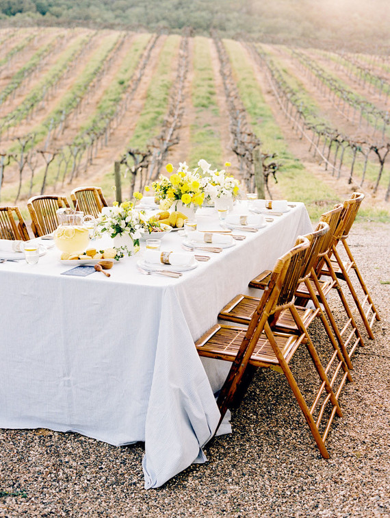 Hampton's inspired wedding editorial