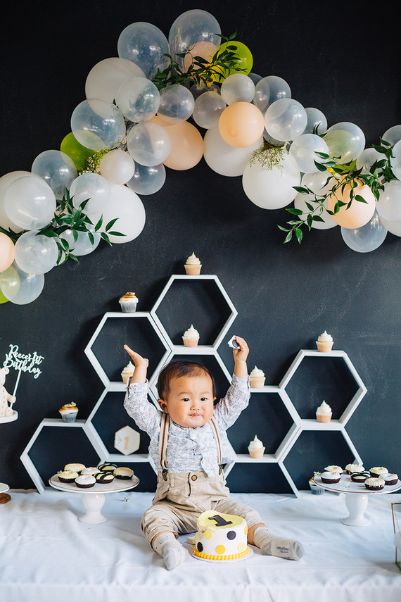 Modern Bee 1st birthday