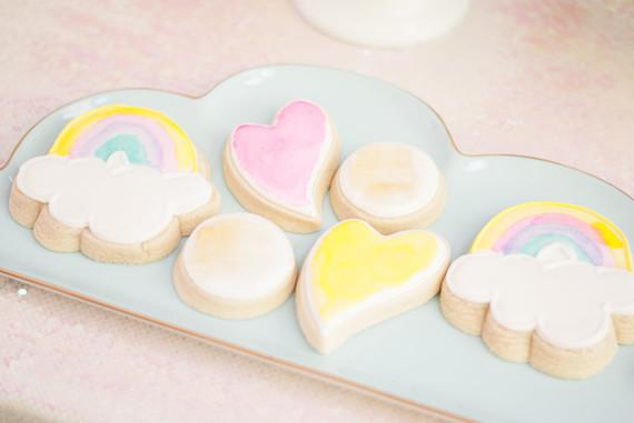 Pastel iridescent girl's birthday party
