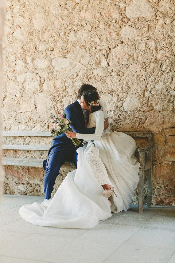 Romantic wedding at Finca Las Margas in Spain: Carlota + Jorge