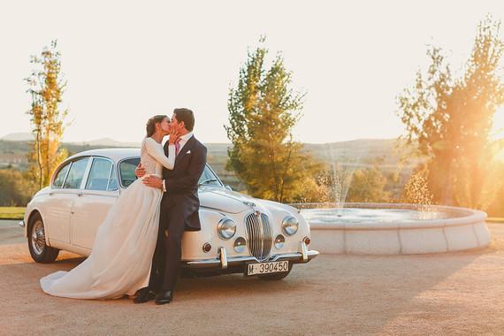 Spanish wedding portrait