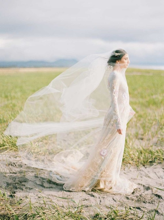 Oregon coast wedding inspiration