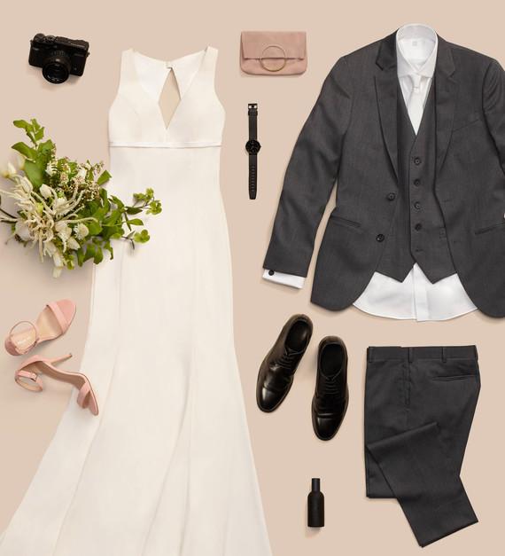 Minimal wedding style