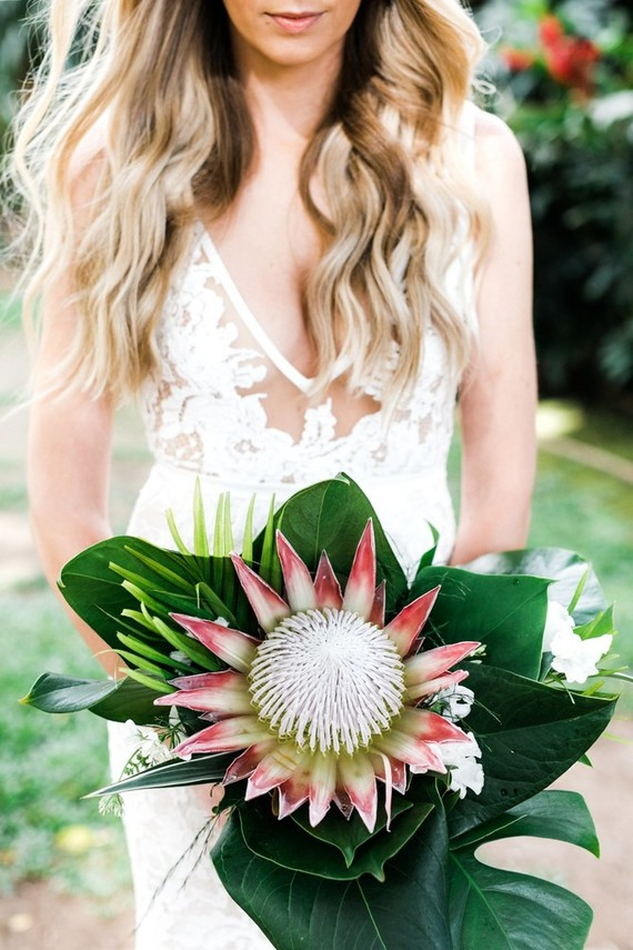 King protea bouquet