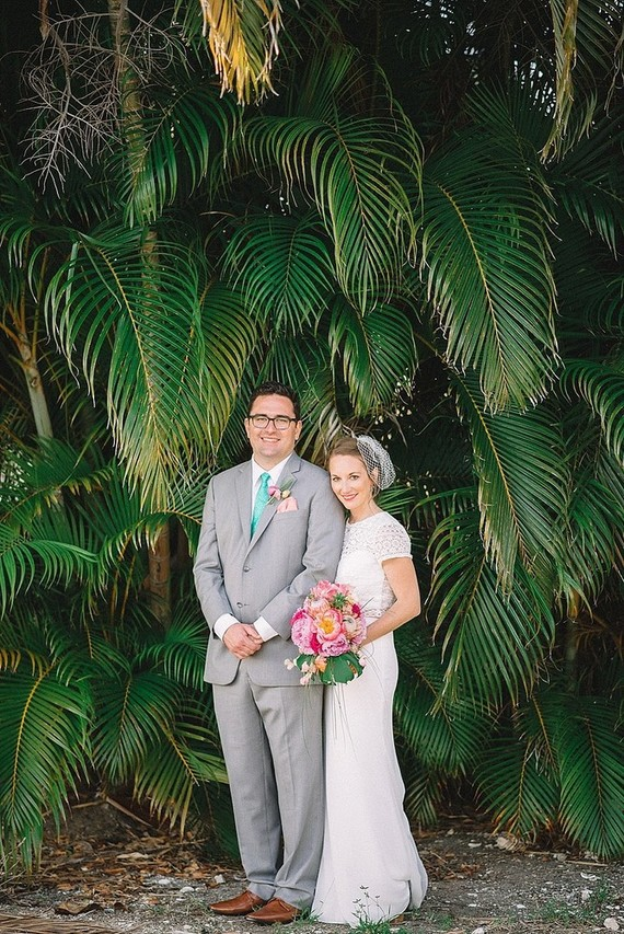 Florida wedding portrait