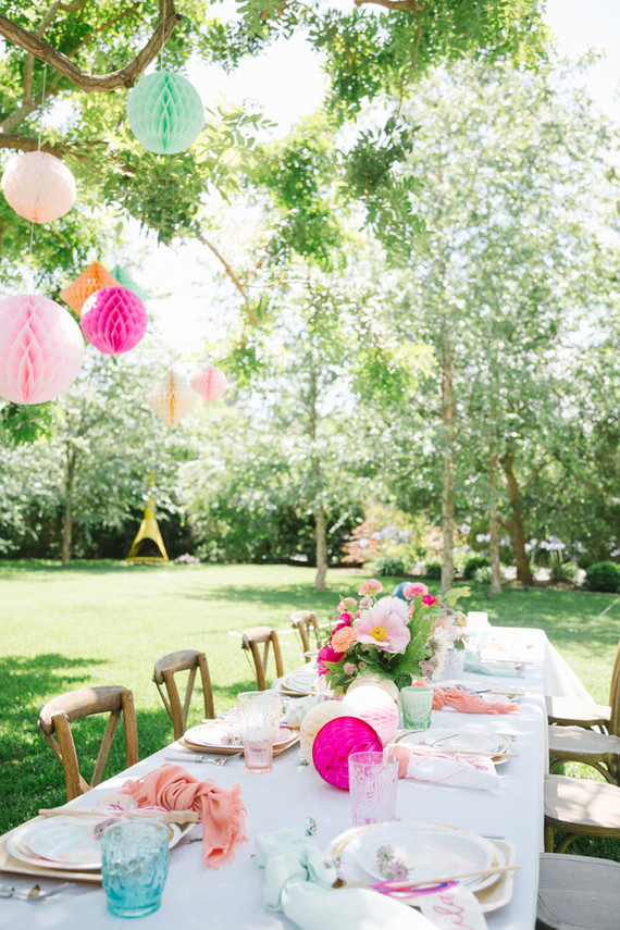 Fairy princess birthday party