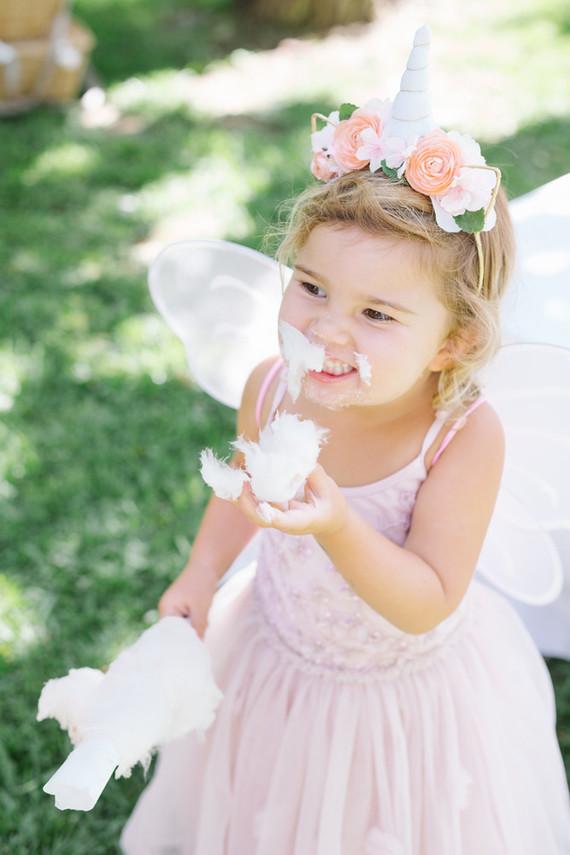 Fairy princess birthday party