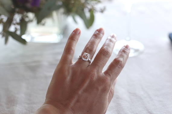 Harry Winston engagement ring