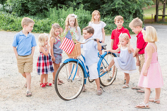 4th of July kids styled shoot