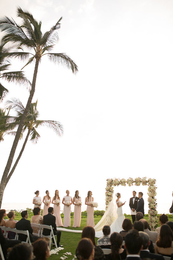 Destination wedding at the Andaz in Maui: Erica + Chris