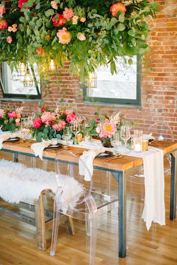 coral peony wedding ideas