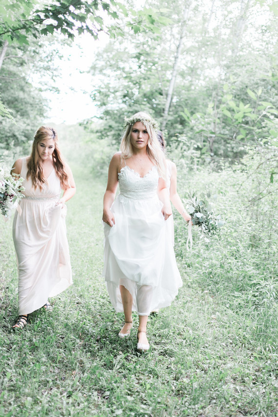 Earthy summer wedding in Michigan
