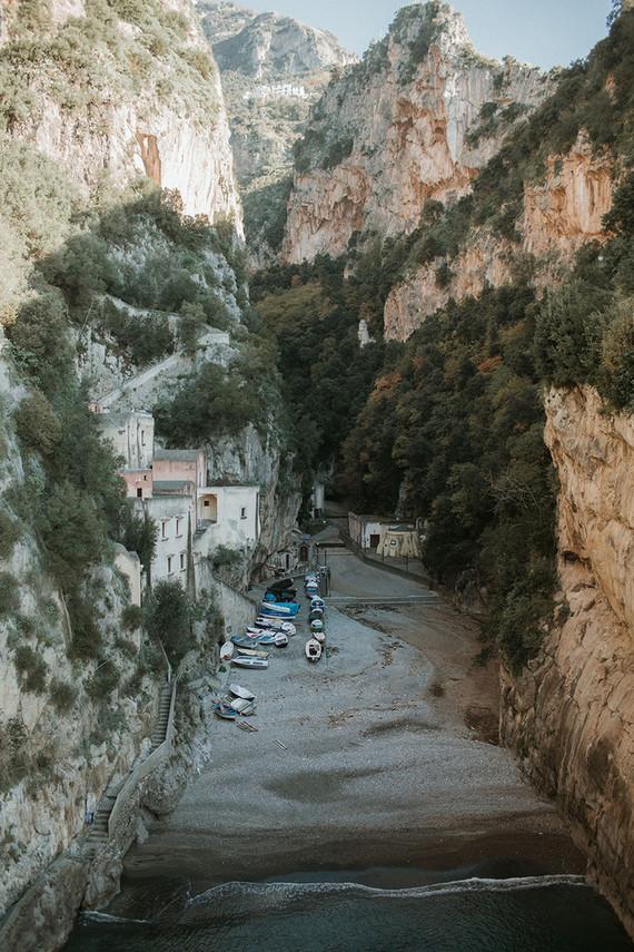 Amalfi Coast in winter
