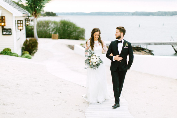 Modern DIY wedding in Oslo