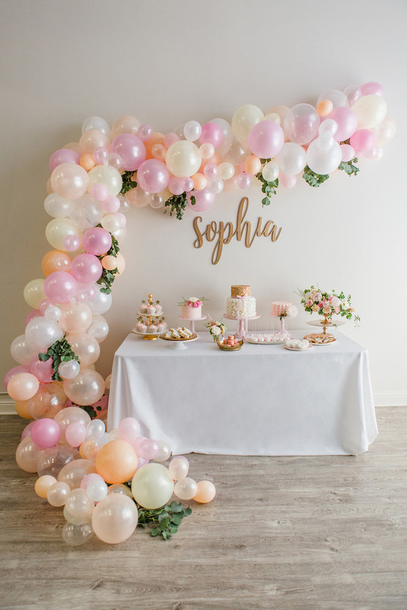 Pink and gold birthday party | Girls ballet party | 100 ...