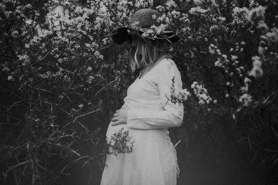 Spring portland maternity photos