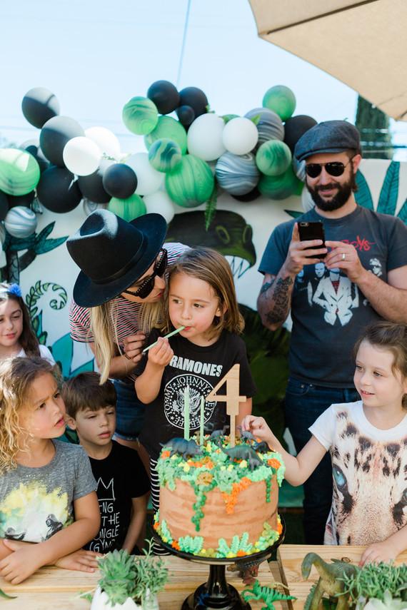 Modern Dinosaur Boys Birthday Dinosaur Party Ideas 100 Layer Cakelet