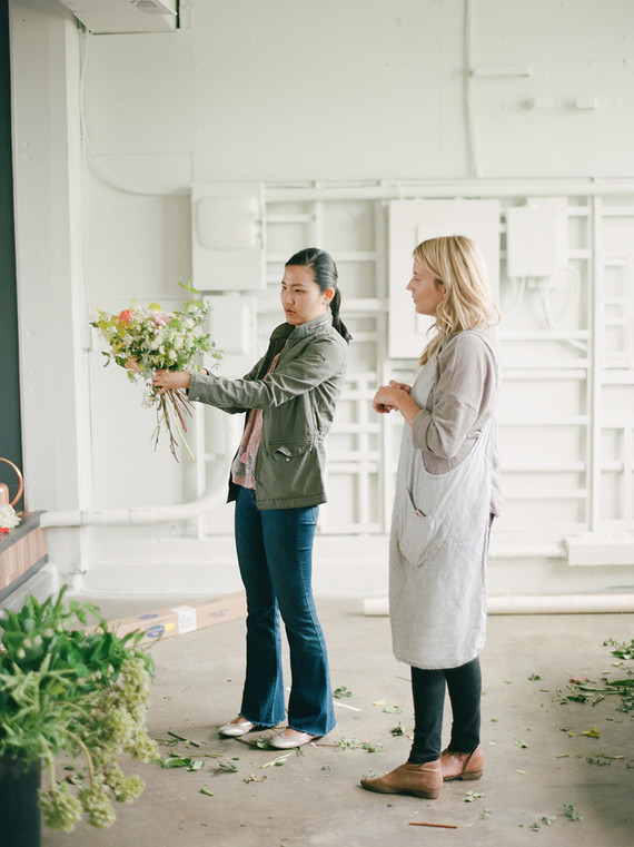 Floral workshop from Tinge Floral