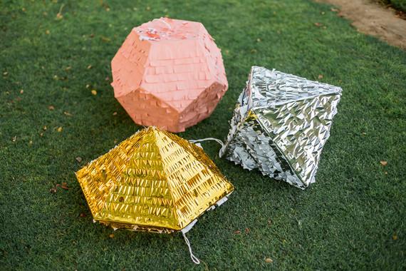 metallic piñata