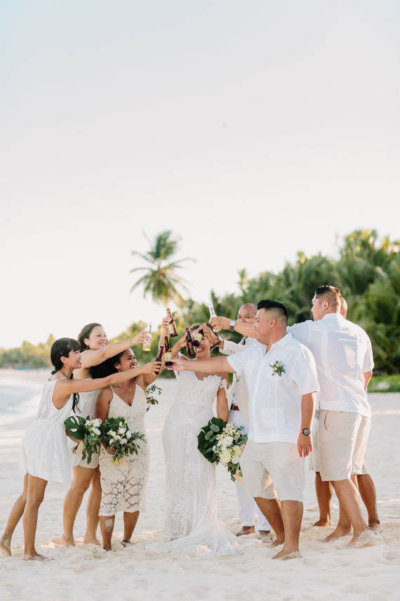 Rustic tropical all white wedding in tulum 100 layer cake rustic tropical all white wedding in tulum junglespirit Choice Image