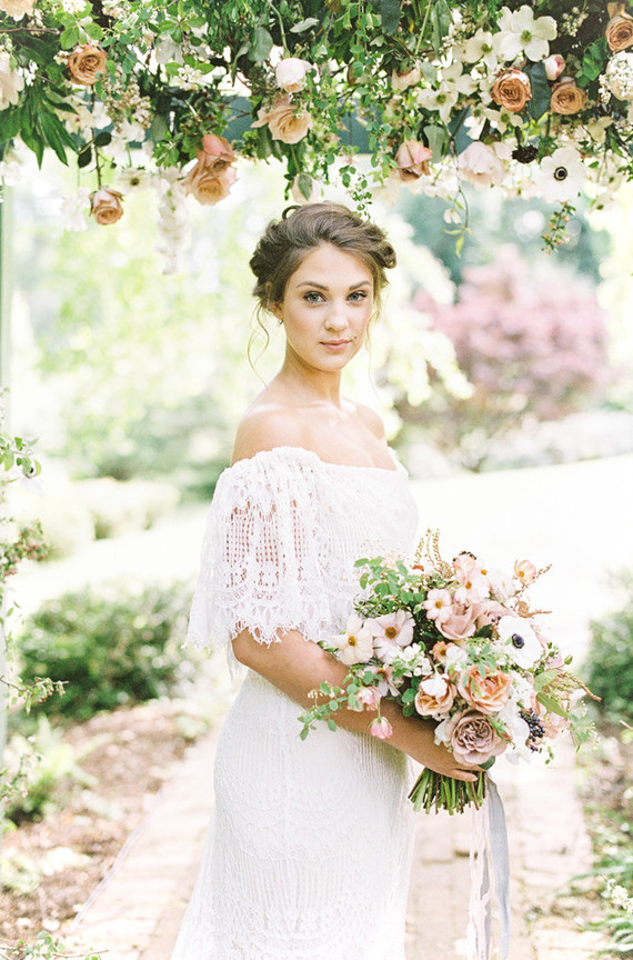 Floral spring wedding ideas