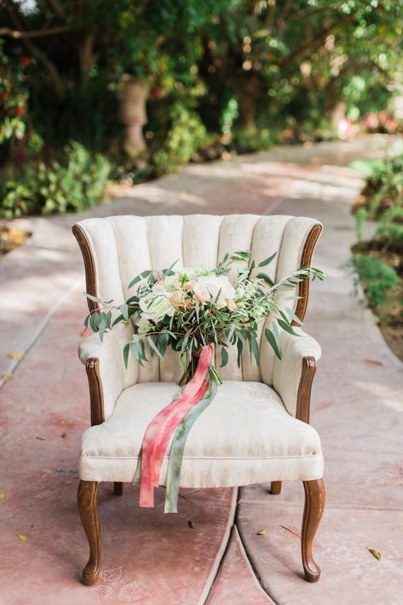 garden inspired bridal bouquet