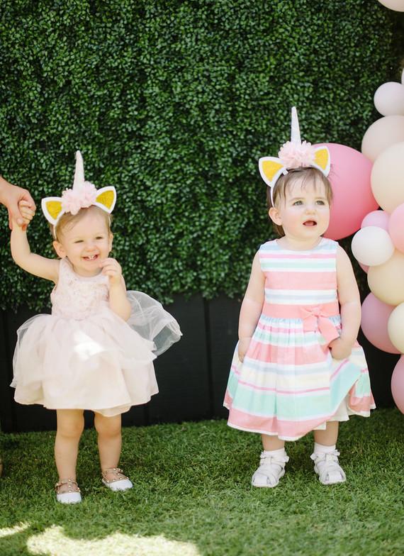 0054c0b67eda Unicorn themed first birthday | Unicorn party ideas | 100 Layer Cakelet
